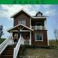 忠县生态木传统木屋 乡村现代别墅 景区休闲木屋厂家设计安装 众仁木艺